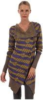 Vivienne Westwood Long Concordia Cardigan (Purple/Oil) - Apparel