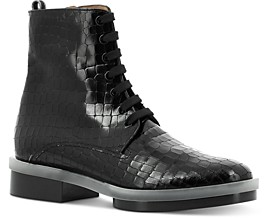 Clergerie Women's Robyn Lace Up Booties