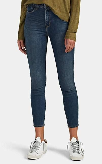 L'Agence Women's Margot High-Rise Skinny Jeans - Blue