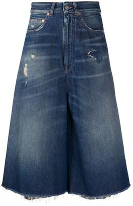 MM6 MAISON MARGIELA A-line denim skirt