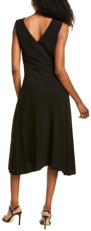Thumbnail for your product : Anne Klein Soft Crepe Midi Dress