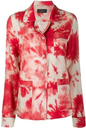 Alanui Tie-Dye Pyjama Shirt