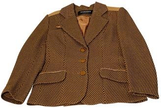 Jean Louis Scherrer Jean-louis Scherrer Beige Wool Jacket for Women Vintage