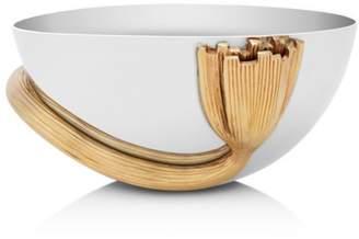 L'OBJET Deco Leaves Small Bowl