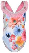 Pate De Sable Floral Print Swimsuit
