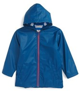 Hatley Toddler Boy's Splash Hooded Raincoat