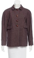 See by Chloe Houndstooth Vented Jacket