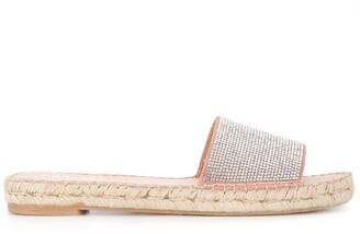 Carvela Karly crystal-embellished mules