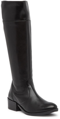 Italian Shoemakers Ada Leather Knee-High Boot
