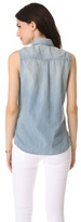 AG Adriano Goldschmied The Faye Sleeveless Shirt