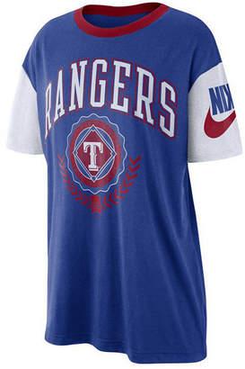 Nike Women Texas Rangers Retro Boycut T-Shirt