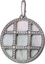 Cartier Pasha 18k Mother-of-Pearl & Diamond Pendant Enhancer