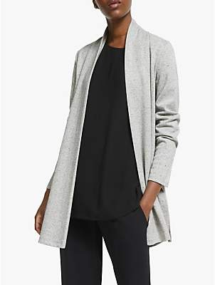 Eileen Fisher Herringbone Jacket, Dark Pearl