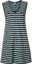 M Missoni striped shift dress - women - Cotton/Polyamide/Polyester - 38