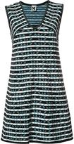 M Missoni striped shift dress