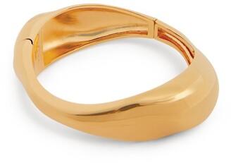 Chloé Polished Asymmetric Cuff Bracelet