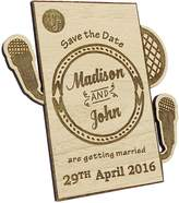 Darling Souvenir Custom Engraved Wooden Magnet Personalized Gift 40 Rustic Wedding Save the Date Wooden Magnet