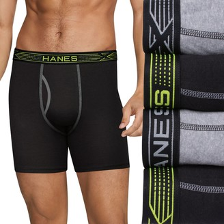 Hanes Men's 4-pack Sport X-Temp Comfort Boxer Briefs