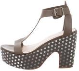 Loeffler Randall Polka Dot Platform Sandals