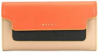 Marni colour-block wallet