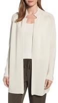 Eileen Fisher Women's Long Tencel Knit Jacket