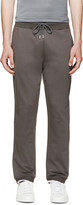 Christopher Kane Grey French Terry Lounge Pants