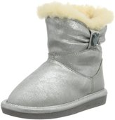 BearPaw Girl's Robyn Youth Faux Suede/Sheepskin/Wool Ankle-High Sheepskin Boot - 7M