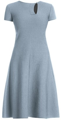 Giorgio Armani Short-Sleeve Knit Dress