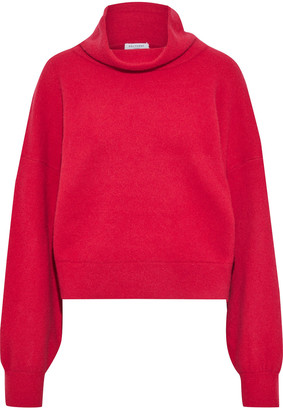 Equipment Brushed Wool-blend Sweater