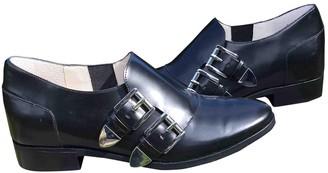 Michael Kors Black Leather Lace ups