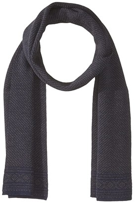 Dale of Norway Harald Scarf (C-Navy Melange/Dark Grey Melange) Scarves