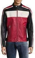 Diesel L-Street Leather Racer Jacket