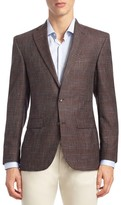 Saks Fifth Avenue Textured Wool Sportcoat