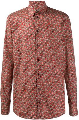 Dolce & Gabbana Geometric Embroidered Shirt
