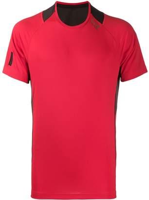 Emporio Armani Ea7 mesh panelled T-shirt