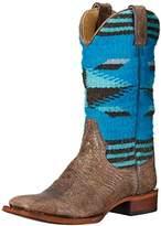 Stetson Women's Serape Square Toe Boot 6.5 B - Medium