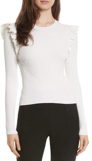 Cinq à Sept Sloann Frill Sweater