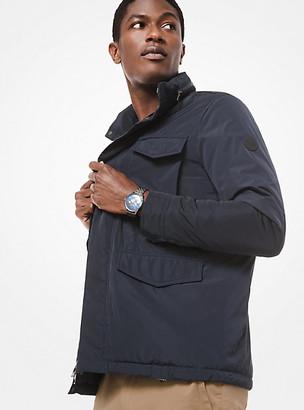 Michael Kors Nylon Hooded Field Jacket