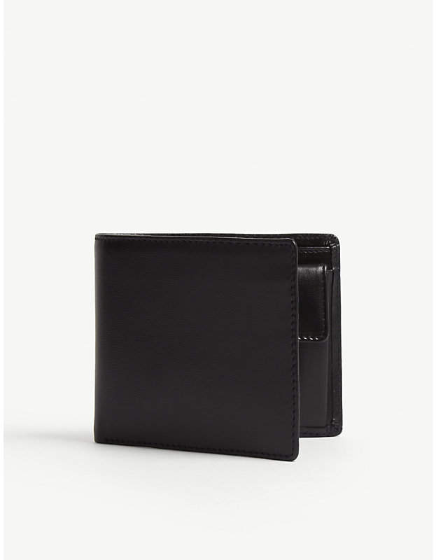 Launer Billfold wallet with coin pouch black