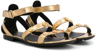 Versace TEEN Medusa stud sandals