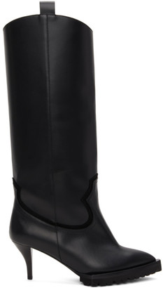 Tall Black Boots No Heel   Shop the