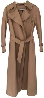 Tagliatore Beige Cotton Trench coats