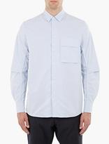 Oamc Blue Cotton Canopy Shirt
