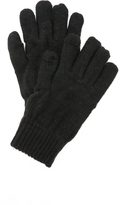 Plush Fleece Lined Metallic Texting Gloves