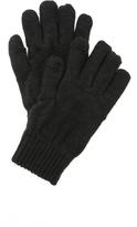Plush Fleece Lined Metallic Texting Gloves