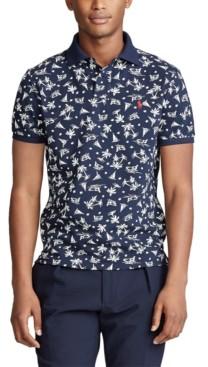Polo Ralph Lauren Men's Classic-Fit Tropical-Print Polo Shirt