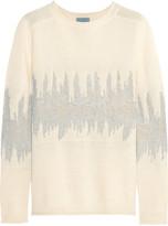 Maiyet Jacquard-knit wool-blend sweater