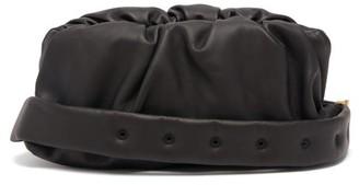 Bottega Veneta The Body Pouch Small Leather Cross-body Bag - Mens - Black