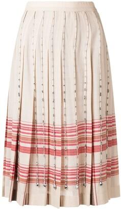 Marco De Vincenzo crystal-embellished skirt