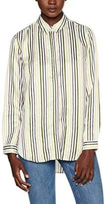 Great Plains Women's Rainbow Stripe Pocket Shirt,(Manufacturer Size:XX-Small)